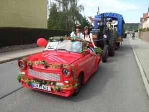 Winzerfest Freyburg Festumzug 2011